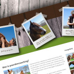 Responsive website Dymphy & Co Paardencoaching uit Someren